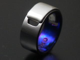 チタンシルバー指輪