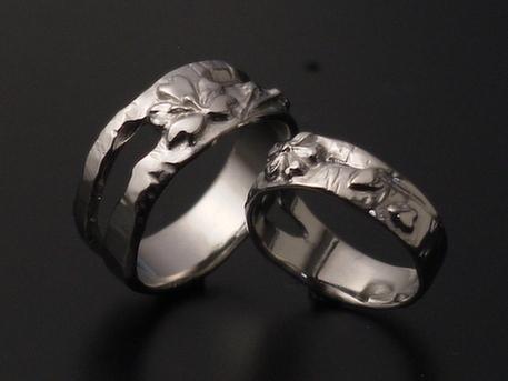 フルオーダーのさくらの指輪